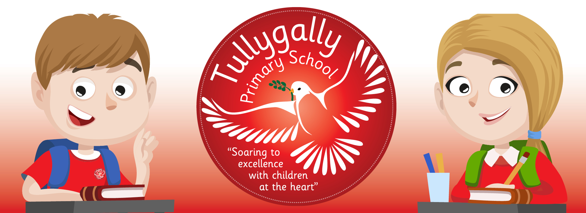 Tullygally Primary School Logo